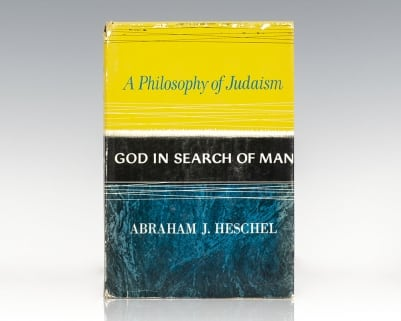 God in Search of Man: A Philosophy of Judaism.