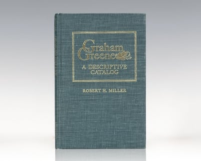 Graham Greene: A Descriptive Catalog.