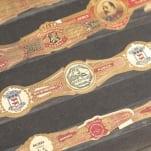 Rare Cuban Cigar Band Collection Folio.