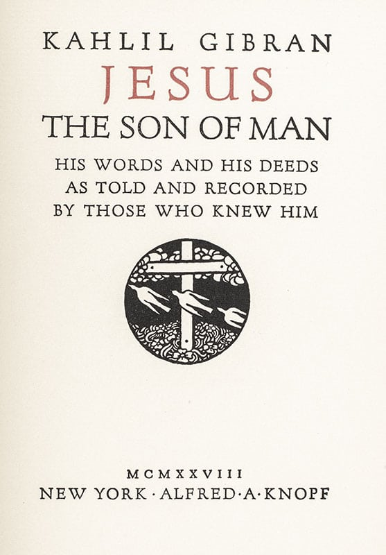 Jesus: The Son of Man.