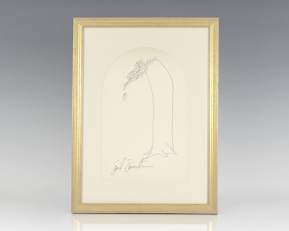 The Giving Tree Original Signed Drawing.