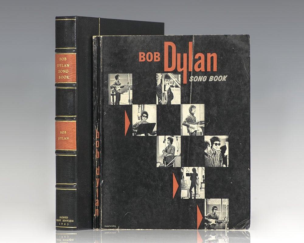 Bob Dylan Song Book.