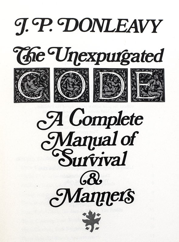 The Unexpurgated Code: A Complete Manual of Survival & Manners.