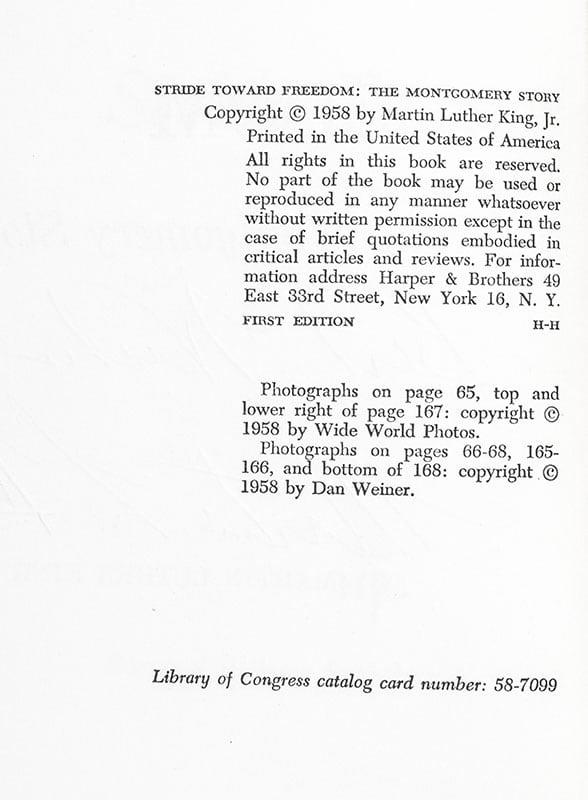 Stride Toward Freedom: The Montgomery Story.