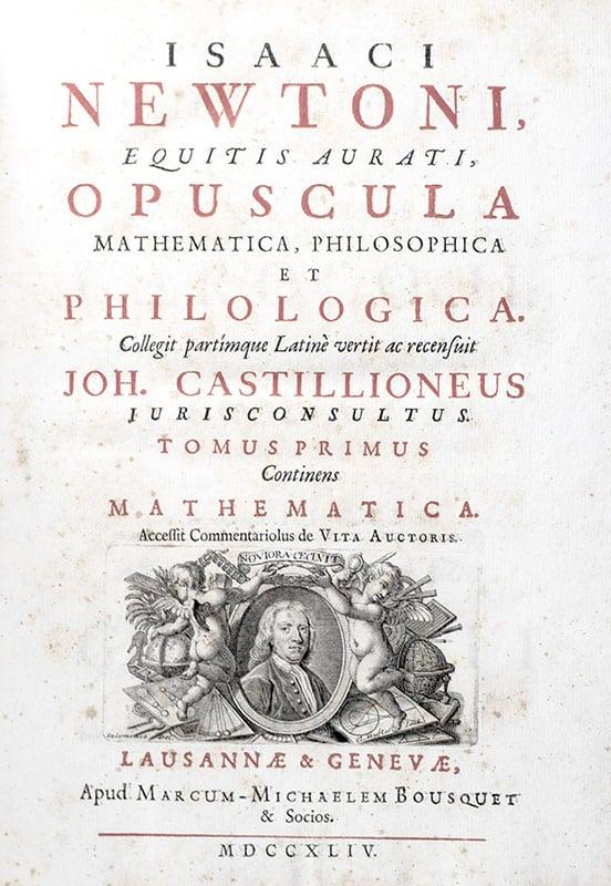 Opuscula Mathematica, Philosophica et Philologica.