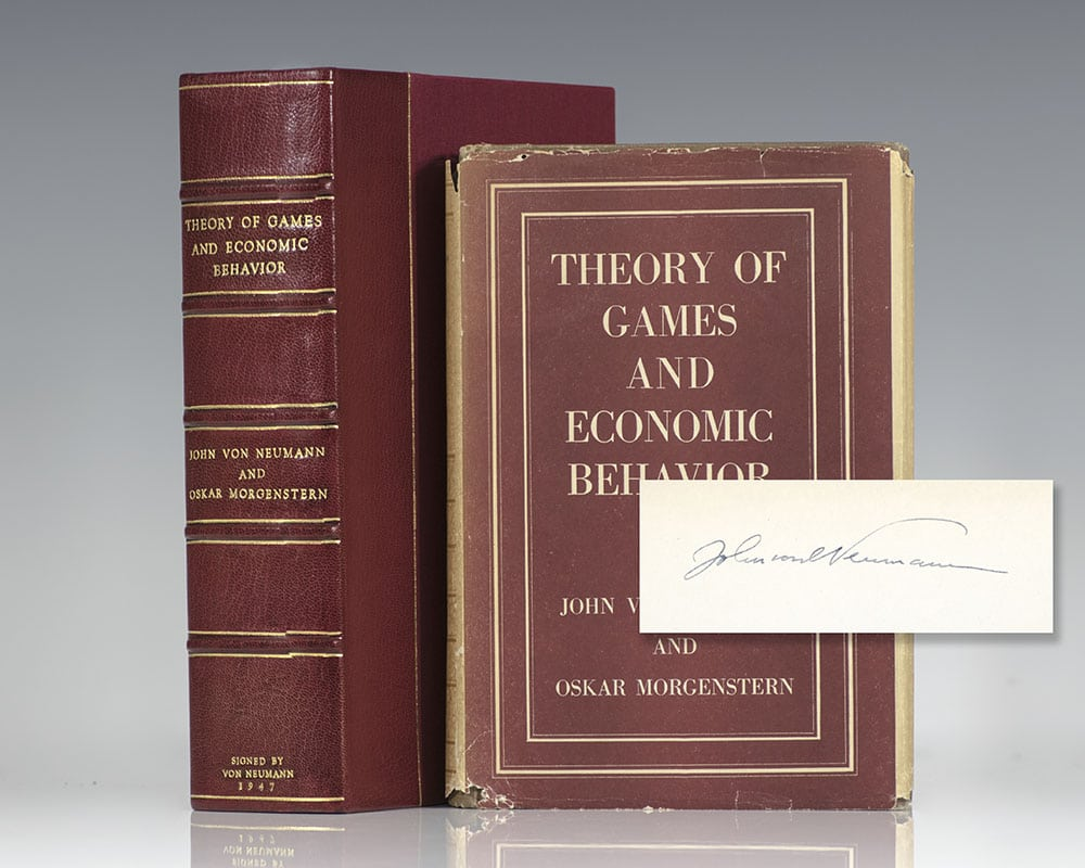 Theory of Games and Economic Behavior.