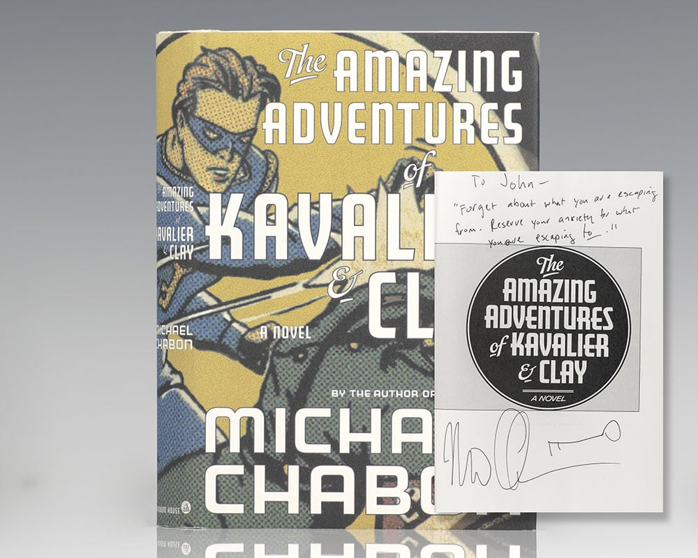 The Amazing Adventures and Kavalier and Clay.