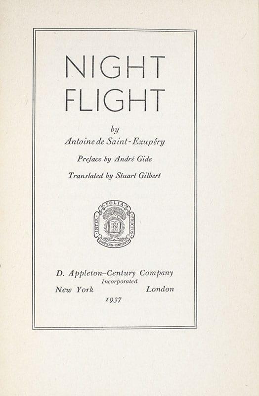 Night Flight.