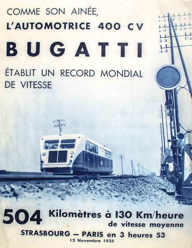 Collection of Original Bugatti Advertisements and Brochures.