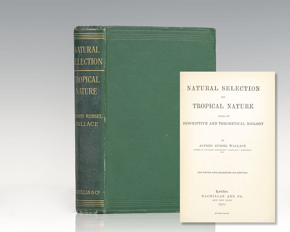 Natural Selection and Tropical Nature: Essays on Descriptive and Theoretical Biology.