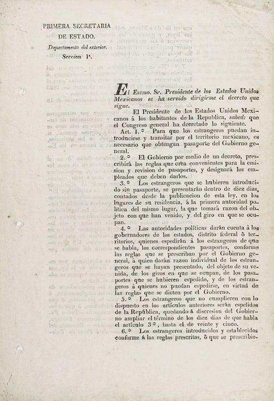 The Law of March 12, 1828.