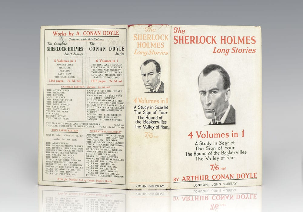 The Complete Sherlock Holmes Long Stories: A Study in Scarlet, The Sign of  Four, The Hound of Baskervilles, and The Valley of Fear