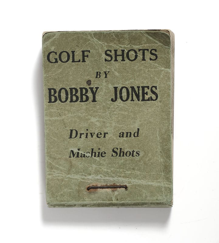 Golf Shots by Bobby Jones: Driver and Machine Shots Flip Book.