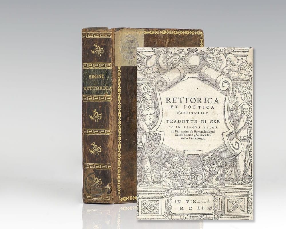 Rettorica et Poetica D'Aristotile.