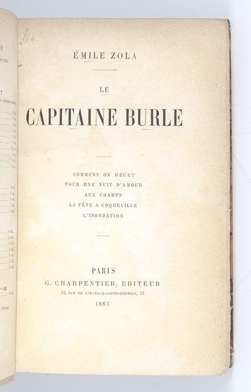 Le Capitaine Burle: Comment on Meurt pour une Nuit d'Amour aux Champs la Fete a Coqueville L'Inondation.