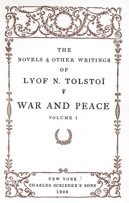 The Works of Leo Tolstoy. Including: War and Peace, Anna Karenina, Resurrection.