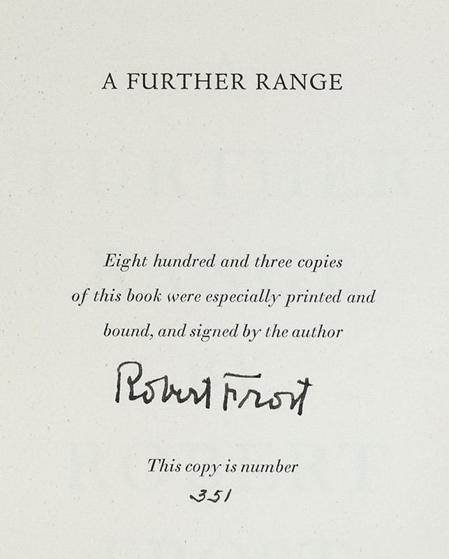 A Further Range.