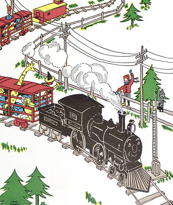 The Little Engine That Could.