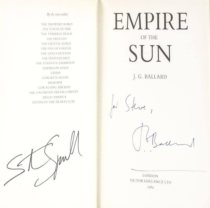 Empire of the Sun.