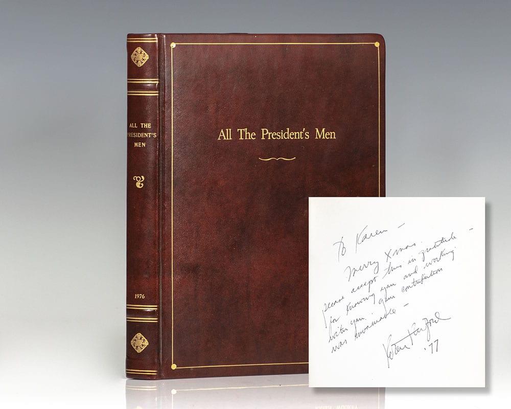 All the President's Men Original Script.
