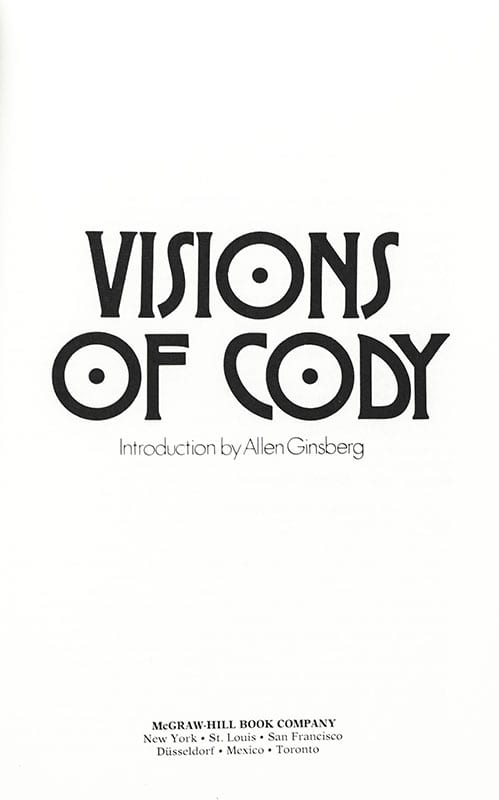 Visions of Cody.