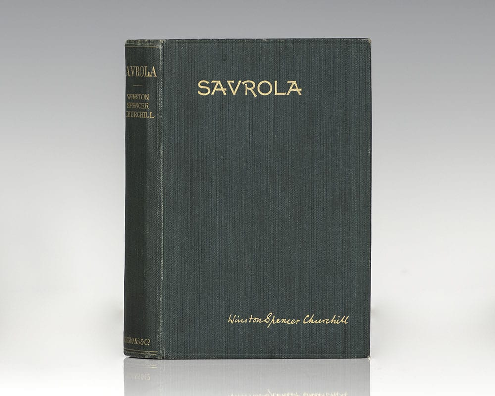 Savrola: A Tale of the Revolution in Laurania.