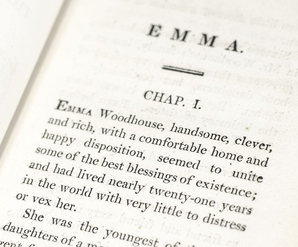"""Emma: A Novel  By the Author of """"Pride and Prejudice """""""