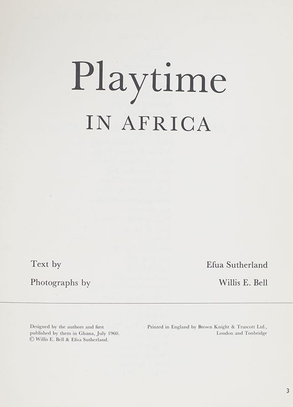 Playtime in Africa.