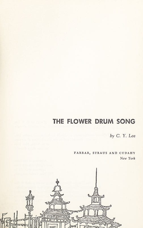 The Flower Drum Song.