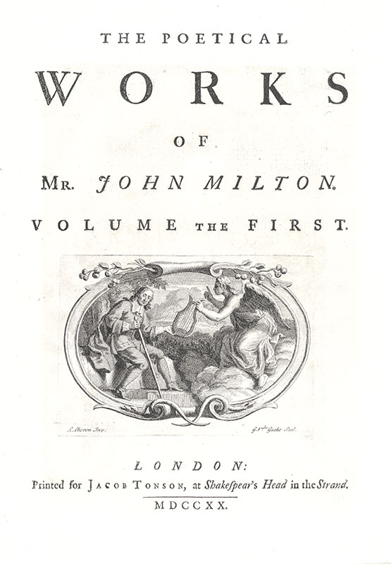 The Poetical Works of Mr. John Milton (Including Paradise Lost).