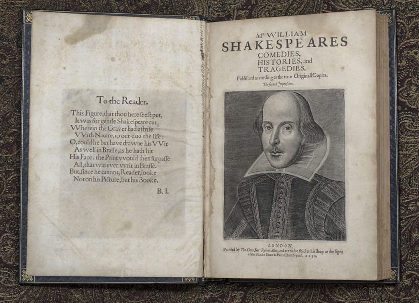 Mr. William Shakespeare's Comedies, Histories, and Tragedies. Published according to the true Originall Copies. The Second Impression.