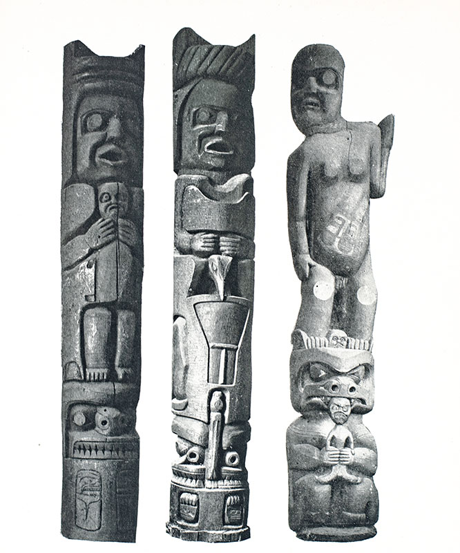 Arts and Crafts of the Totem Indians.