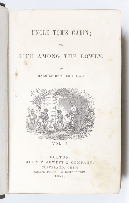 Uncle Tom's Cabin; Or, Life Among the Lowly.