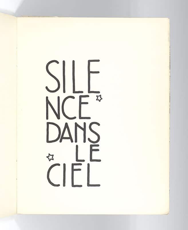 Silence Dans Le Ciel.