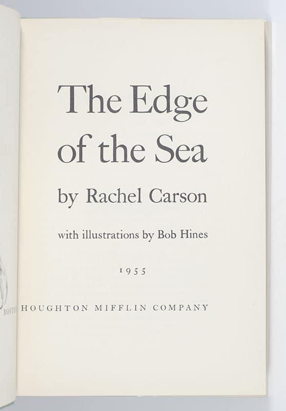 The Edge of the Sea.