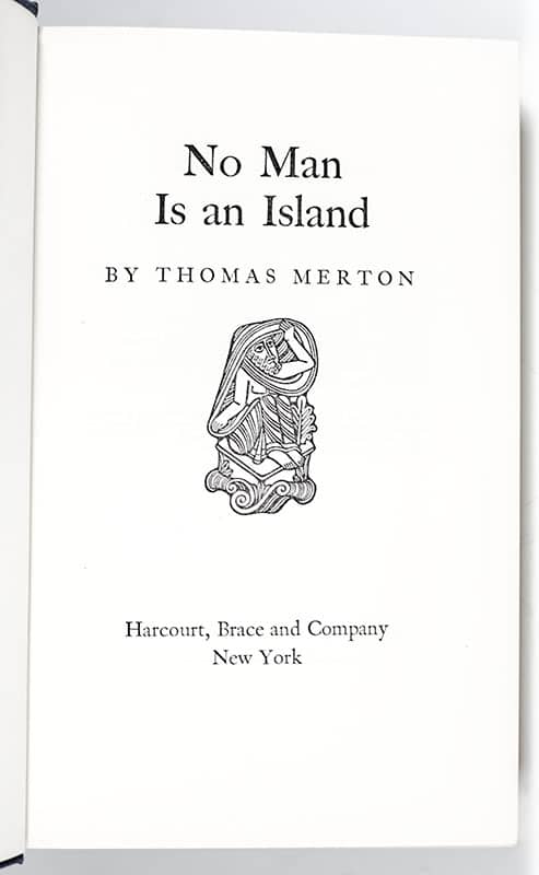 No Man Is An Island.
