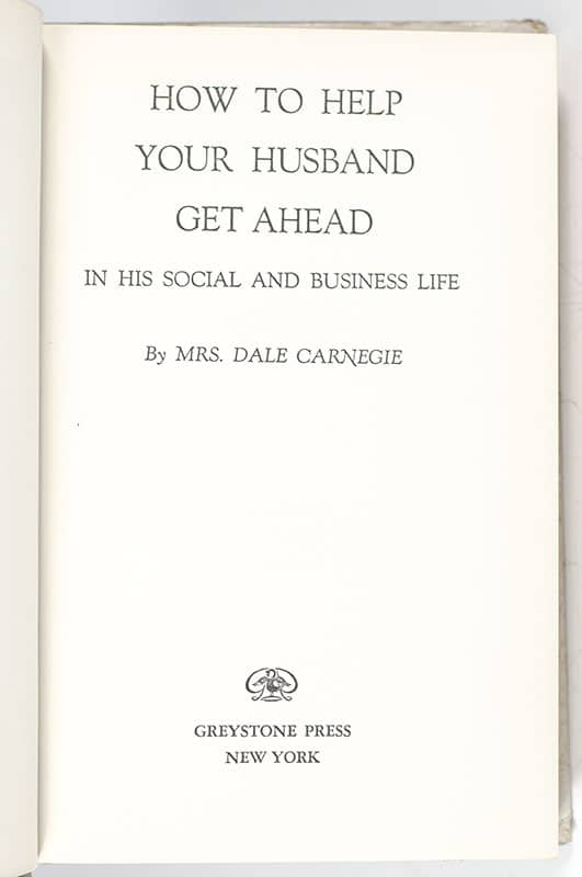 How To Help Your Husband Get Ahead in His Social and Business Life.