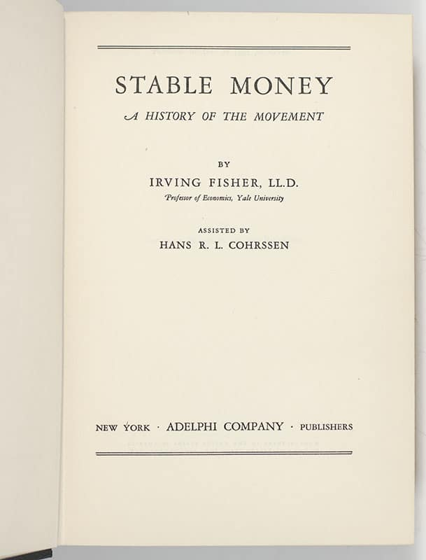 Stable Money.