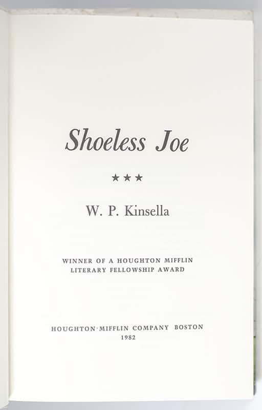 Shoeless Joe.