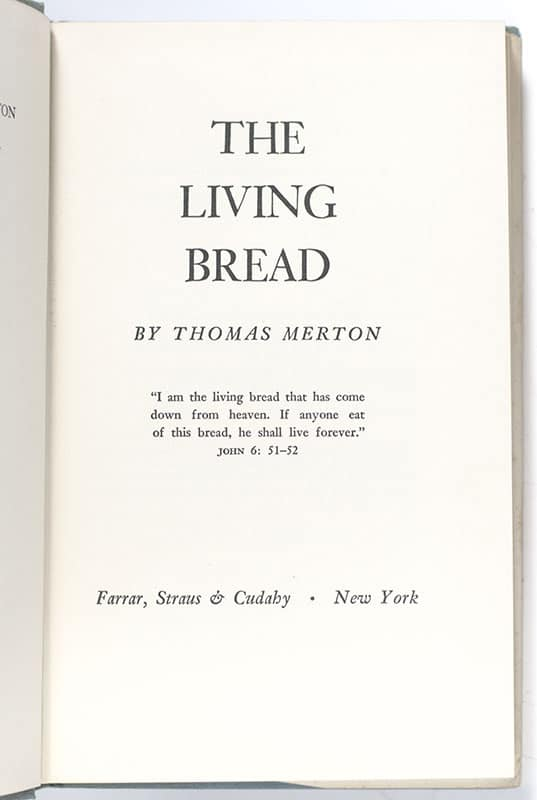 The Living Bread.