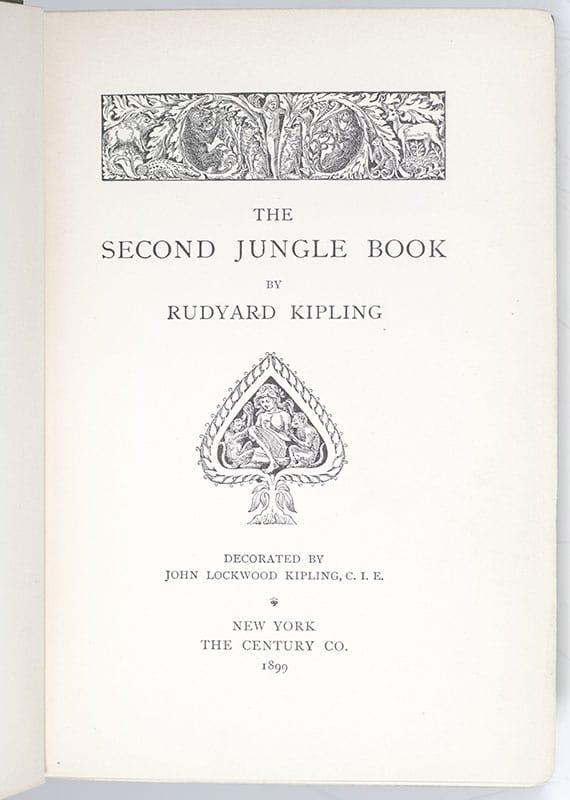 The Second Jungle Book.