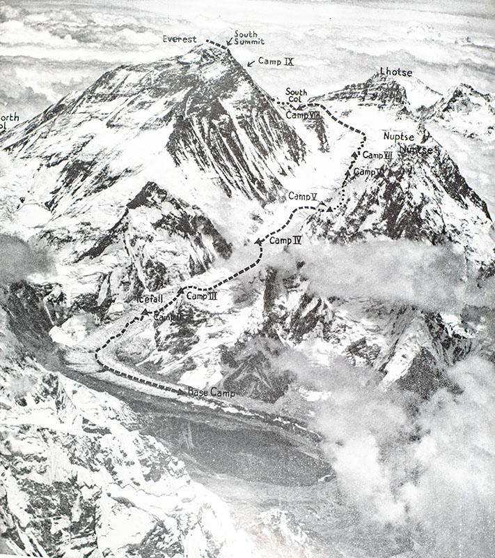 South Col: One Man's Adventure on the Ascent of Everest 1953.
