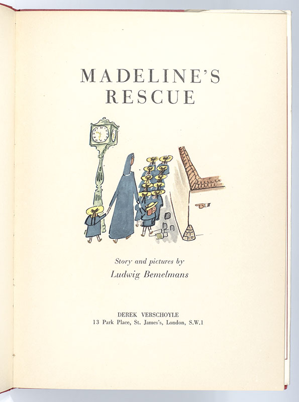Madeline's Rescue.