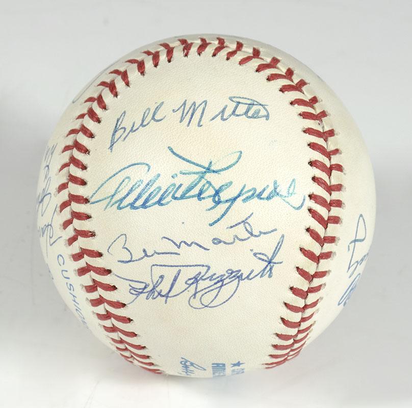 New York Yankees Signed 1953 Baseball.