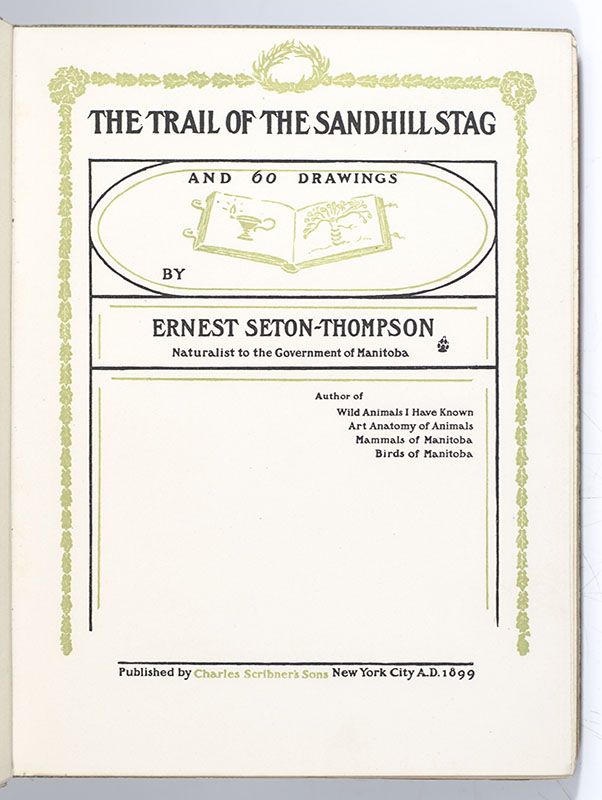 The Trail of the Sandhill Stag.
