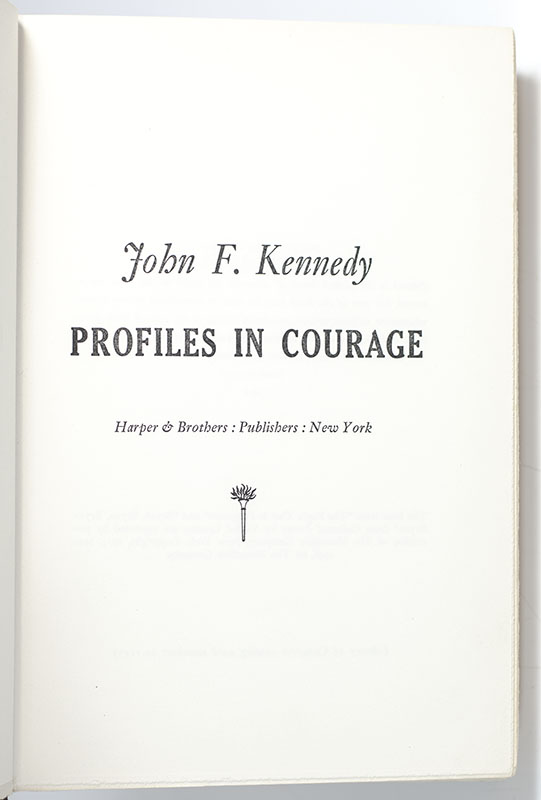 Profiles In Courage.