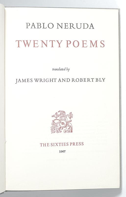 Twenty Poems.