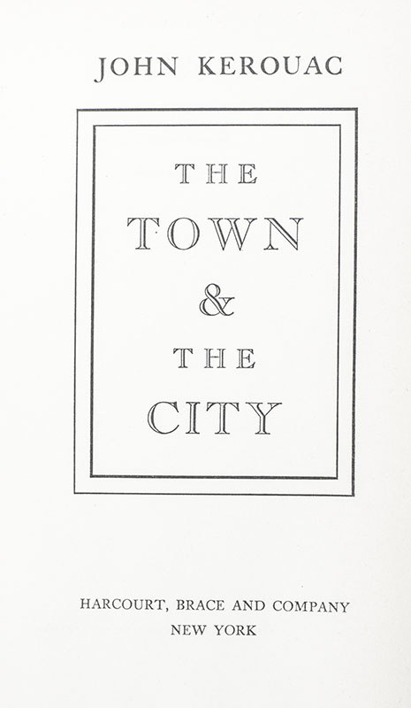 The Town and the City.