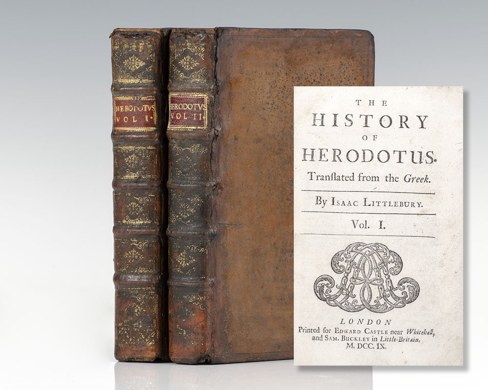 The History of Herodotus. Translated from the Greek. By Isaac Littlebury.