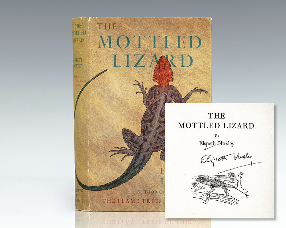 The Mottled Lizard.